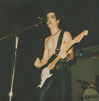 Bobby Steele - Steele fronting The Undead, Indianapolis, Indiana, 2000