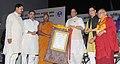 "The Union Home Minister, Shri Rajnath Singh presented the certificates at the ""International Buddha Poornima Diwas Celebration 2016"", in New Delhi (1).jpg"