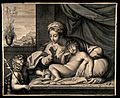 The Virgin Mary telling a young John the Baptist to be quiet Wellcome V0015058.jpg