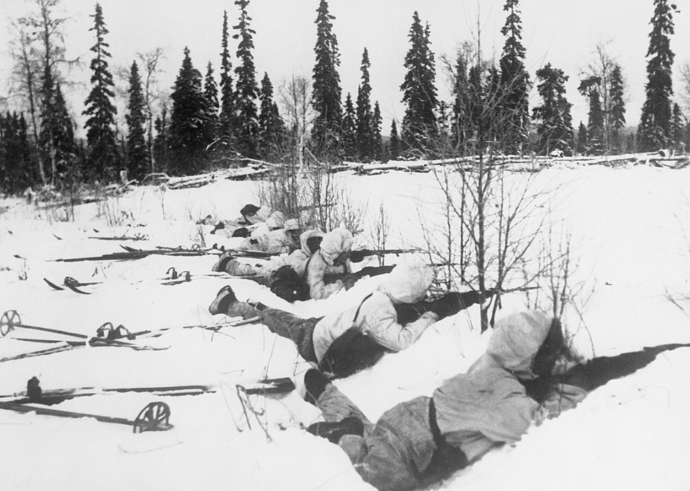 The War in Finland, 1940 HU55566