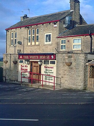 Emley, West Yorkshire - The White Horse public house