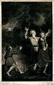 The annunciation to the shepherds. Mezzotint by G.S. and J.G Wellcome V0048043.jpg