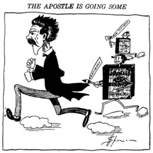 Reed Smoot - Image: The apostle is going some