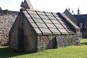 William Drummond of Hawthornden - The burial vault of William Drummond of Hawthornden, Lasswade Kirkyard