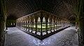 The cloister - Mont St Michel (32880608666).jpg