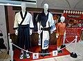 "The clothes which Shun OGURI, Masaki SUDA and Kanna HASHIMOTO wore in ""Gintama 2"".jpg"