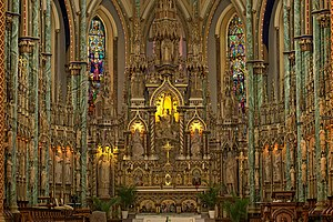 Notre-Dame Cathedral Basilica (Ottawa) - The altar