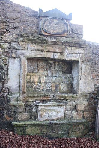 George Jamesone - The grave of George Jamesone, Greyfriars Kirkyard