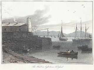The harbour light-house, Holyhead