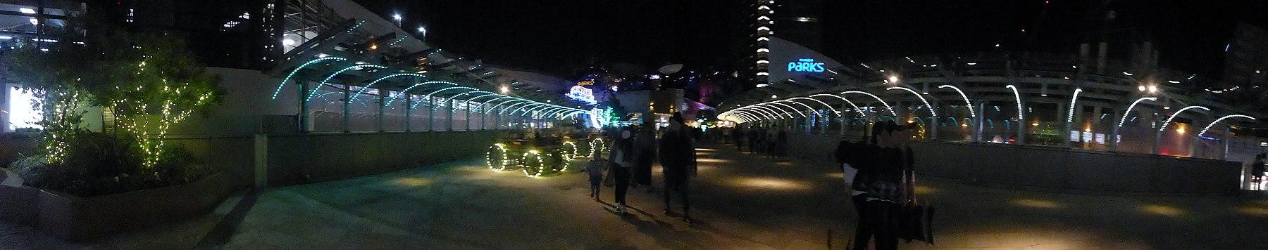 The illuminations at Namba Parks.jpg