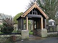 The lych gate of St Cuthbert's Church - geograph.org.uk - 627152.jpg
