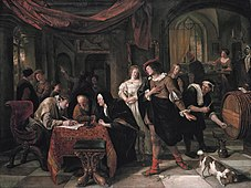 The marriage of Tobias and Sarah, by Jan Steen.jpg
