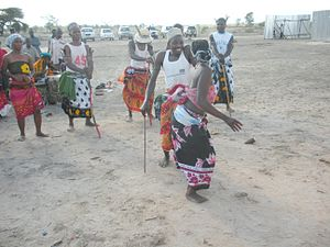 Sub-Saharan African music traditions - Drumming and dancing at Dakawa, Morogoro, Tanzania
