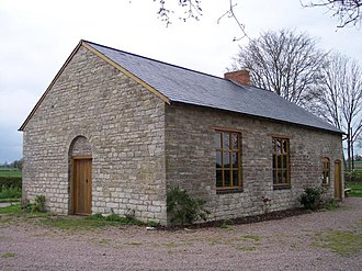 The Church of Jesus Christ of Latter-day Saints in England - The oldest Mormon Chapel in the world: Gadfield Elm Chapel, near Pendock