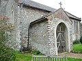 The porch, All Saints Church, Hempstead - geograph.org.uk - 1053186.jpg