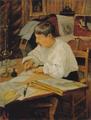 Theodor Philipsen - Portræt af den belgiske maler Rémy Cogghe.png