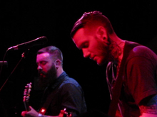 This Wild Life's Kevin Jordan and Anthony Del Grosso performing at Assembly Music Hall in Sacramento, California on January 26, 2014