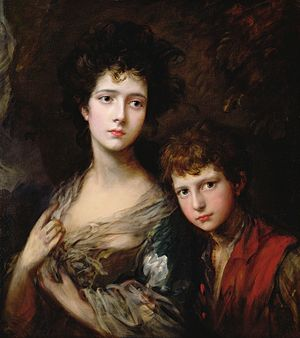 Thomas Linley the elder - Thomas Gainsborough - Elizabeth and Thomas Linley