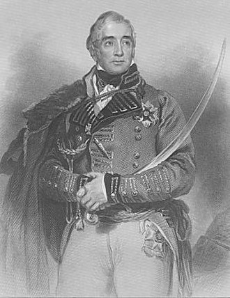 Battle of Barrosa - Portrait of Thomas Graham from the frontispiece of his biography by Alexander M. Delavoye published in 1880