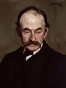 thomas hardy  hardy painted by william strang 1893