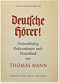 Thomas Mann Deutsche Hörer! 1945.jpg