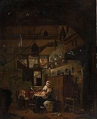 Interior of a Dutch Farm Cottage