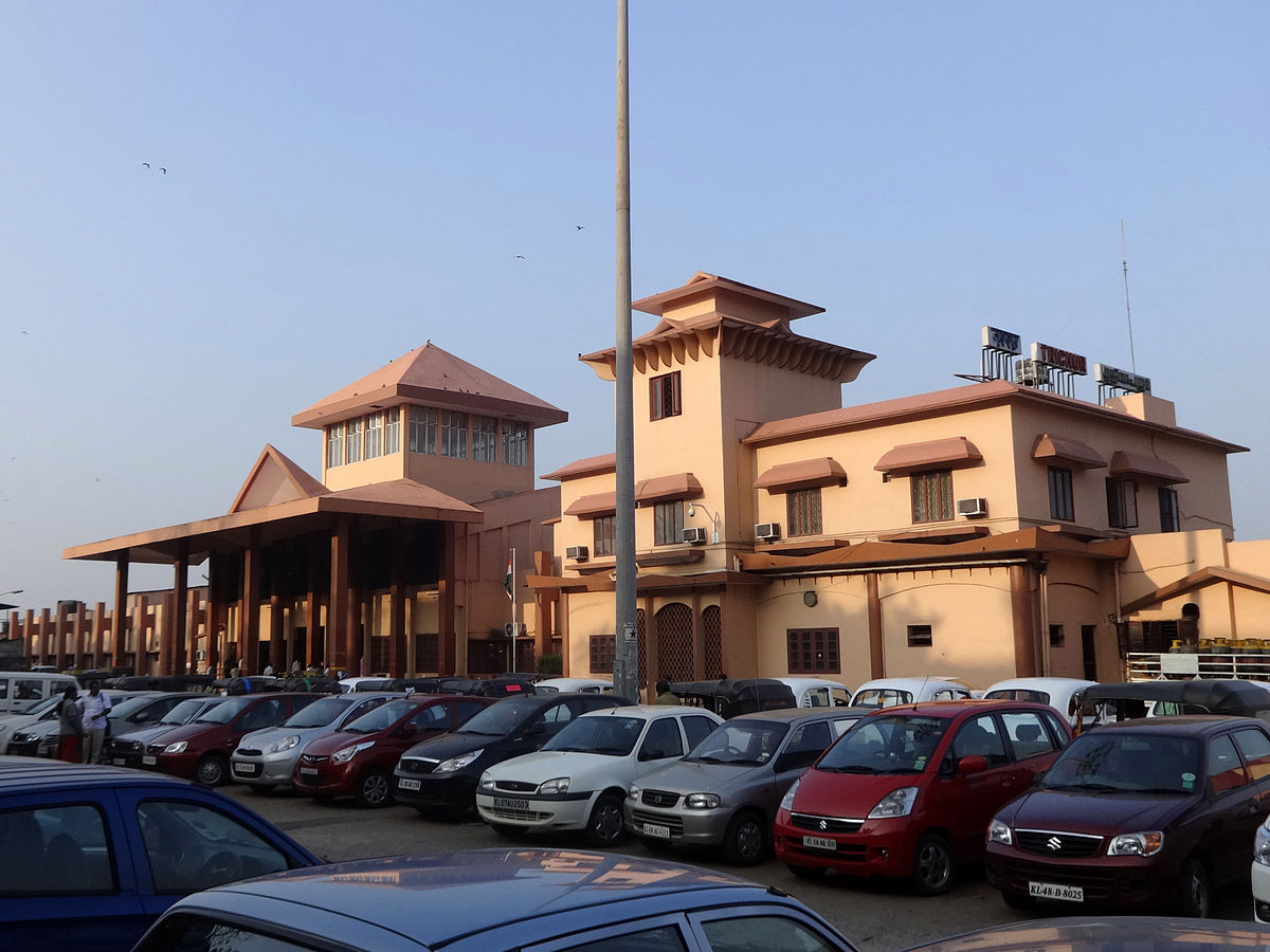 Thrissur railway station