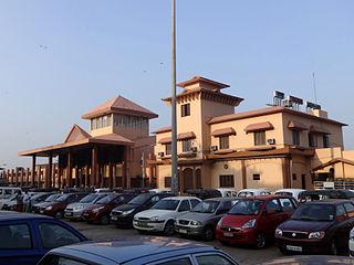 Thrissur railway station Railway station in Kerala, India