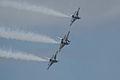 Thunderbirds Lockheed-Martin F-16C Fighting Falcons Diamond 3rd Pass 20 SNF 16April2010 (14443752340).jpg