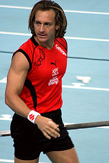 Tim Lobinger German pole vaulter