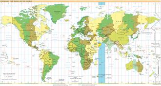 Time in the United Arab Emirates - Image: Timezones 2008 UTC+4