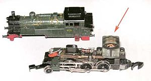 Tiny electric motor in a Z scale model locomotive.jpg