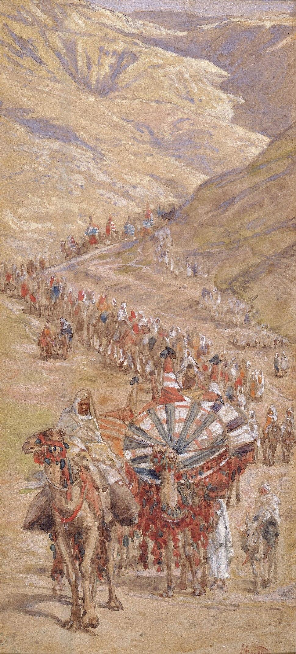 Tissot The Caravan of Abraham