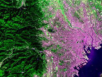Hodoyoshi 3 - Tokyo Japan taken by Hodoyoshi-3 Satellite