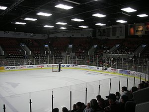 Wings Event Center - Image: Toledo Walleye vs. Kalamazoo Wings January 2014 22