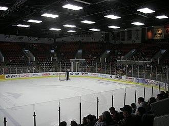 Wings Event Center - Image: Toledo Walleye vs. Kalamazoo Wings January 2014 22