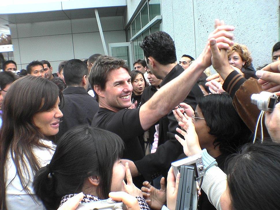Tom Cruise and Katie Holmes Yahoo 2006