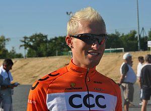 Tomasz Marczyński - Marczyński at the 2011 Tour de Vendée