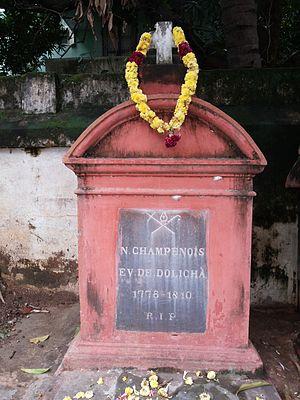 Nicolas Champenois - Image: Tomb of Nicolas Champenois