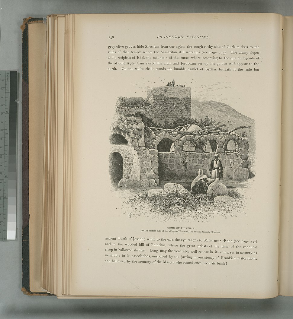 Tomb of Phinehas, on the eastern side of the village of 'Awertah, the ancient Gibeah Phinehas (NYPL b10607452-80406)