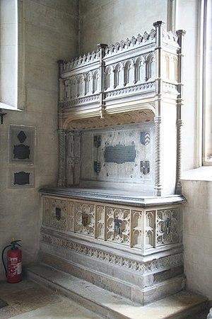 Sir William Sidney - Tomb of Sir William Sidney (1482?–1554) at St John the Baptist, Penshurst