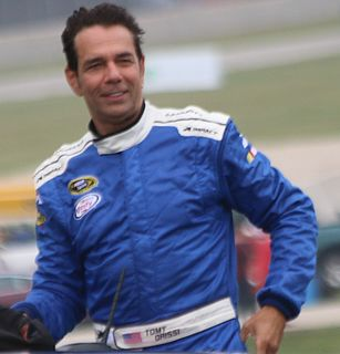 Tomy Drissi American racing driver and advertising professional