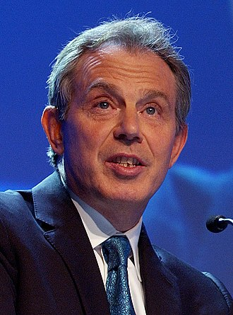 2001 United Kingdom general election - Image: Tony Blair WEF (cropped)