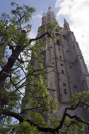 Church of Our Lady, Bruges - Image: Toren OL Vkerkbrugge