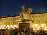 Torino Piazza San Carlo Monumento
