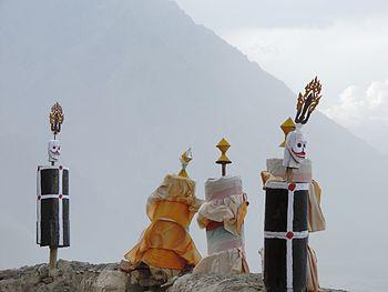 Totems in Diskit Monastery.jpg