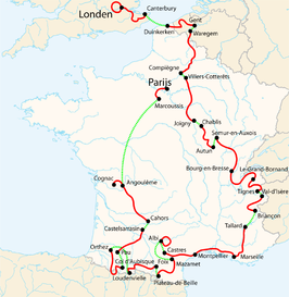 Tour De France Chunnel