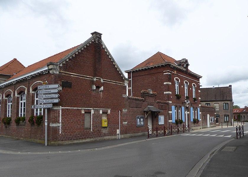 La Mairie de Tourmignies  Nord Hauts-de-France