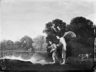 Young Tobiah and the Angel