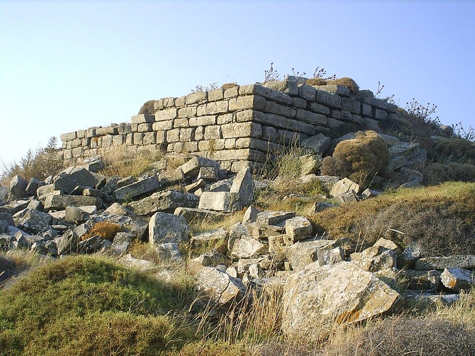 Tower, Medieval fort, Skala, Lemnos